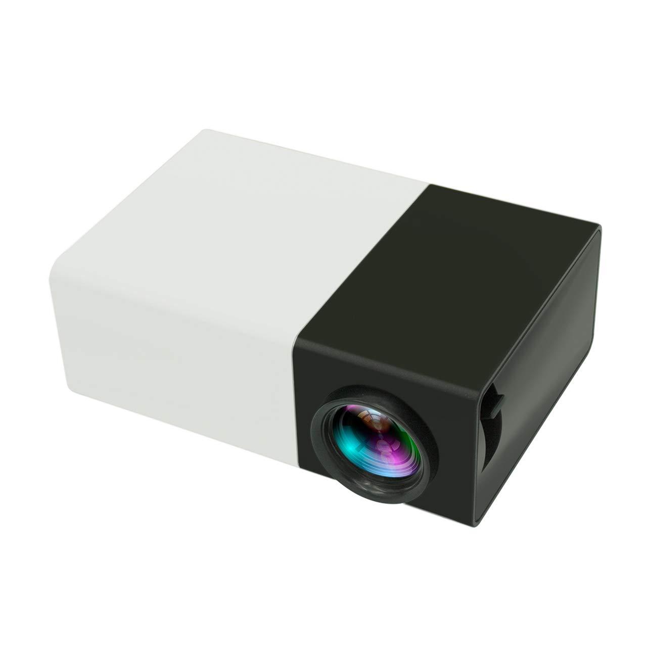 Mini proyector YG300, 1080P full HD, pantalla grande de 80 ...