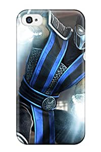 Premium Protective Hard Case For Iphone 4/4s- Nice Design - Video Game Mortal Combat 7567605K93328074
