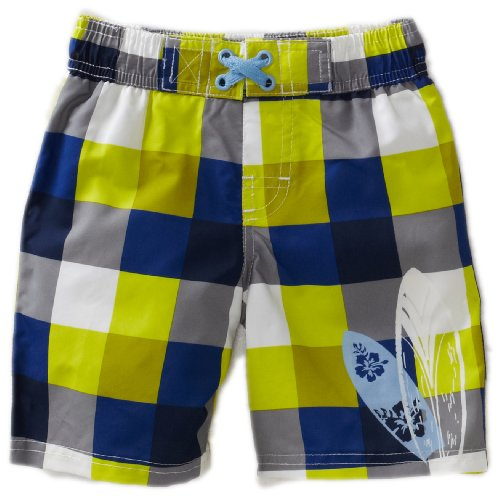 Ixtreme Baby Boys' Checker Swim Board Short