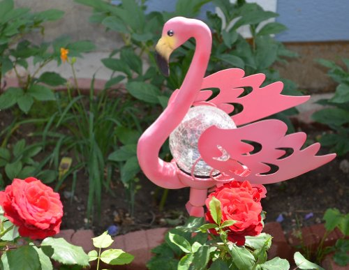 Pink Flamingo Garden Lights