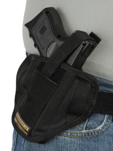 Barsony 6 Position Ambidextrous Concealment Pancake Holster for Ruger SR9C SR40C (Best Owb Holster For Ruger Sr9c)