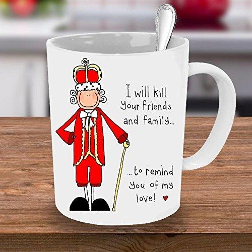 Hamilton Mug, Hamilton, King George, Hamilton Fan, Hamilton Cup, Hamilton Quote, Musicals, Hamilton Musical, Period Mug, King George quote, Coffee Cups and Mugs, 11oz - Face To How Frame