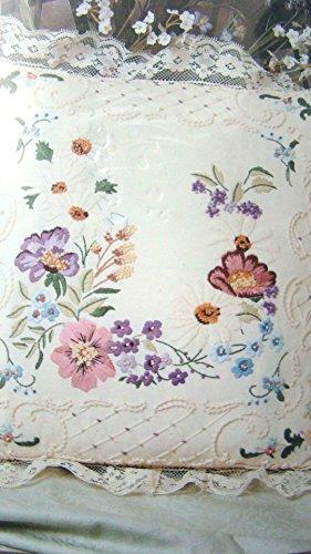 Spring Floral Pillow Something Special Candlewicking Kit ()