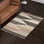 Amazon Brand – Rivet Modern Textured Area Rug, 5 x 8 Foot, Multicolored