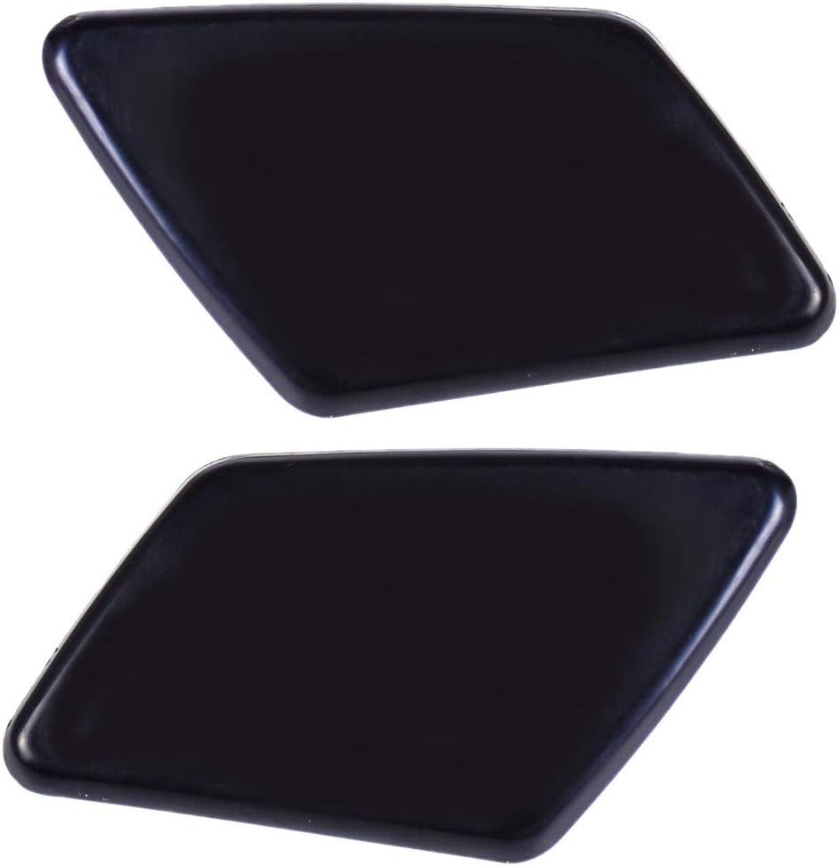39991798 39991799 2pcs Front Bumper Headlight Washer Jet Nozzle Cover Cap for Volvo V50 S40 2005 2006 2007