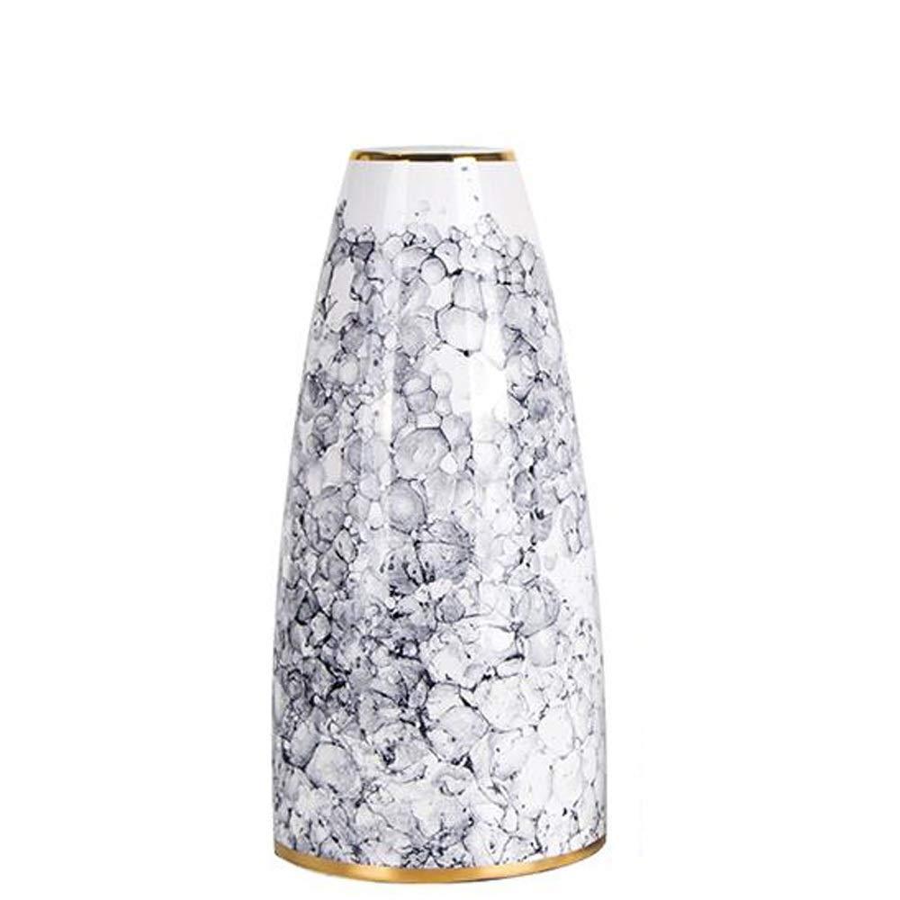 花のための花瓶グリーン植物結婚式の植木鉢の装飾ホームオフィスデスク花瓶花バスケットフロア花瓶 (サイズ さいず : L l) B07QSSJHPH  L l
