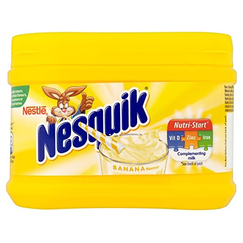 Nesquik Chocolate Drink Mix - Nesquik Banana Flavour 300g