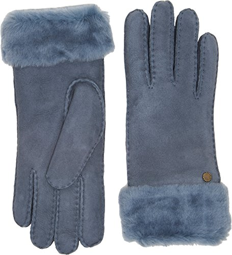 UGG Women's Classic Turn Cuff Waterproof Sheepskin Gloves Norse SM by UGG
