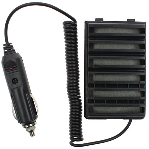 TENQ Car Radio Battery Eliminator + Adaptor for Yaesu Vertex STANDARD HORIZON FNB-V57 FNB-V57H FNB-64 FNB-64H FNB-83 FNB-83H FNB-V94 by TENQ