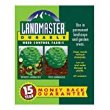 Easy Gardener 301041 3-Foot by 50-Foot Landmaster 15-Year Durable Weed Control Fabric