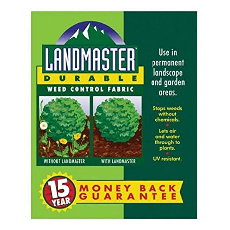 Easy Gardener 301041 3 Foot By 50 Foot Landmaster 15 Year Durable Weed
