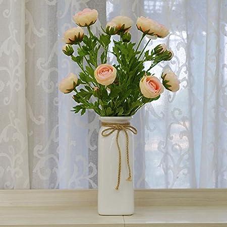 Terraza Danzhi Emulación Lin Flor Kit De Flores Artificiales