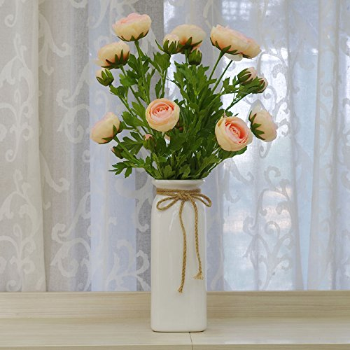 Terraza Danzhi emulación Lin flor kit de flores artificiales para ...