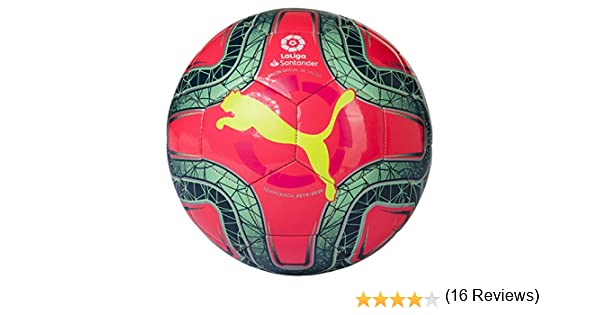 PUMA LaLiga 1 Mini Balón de Fútbol, Unisex-Youth, Pink Yellow ...