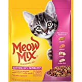Meow Mix Kitten Li'l Nibbles  Dry Cat Food, 18-Ounce (Pack of 6)