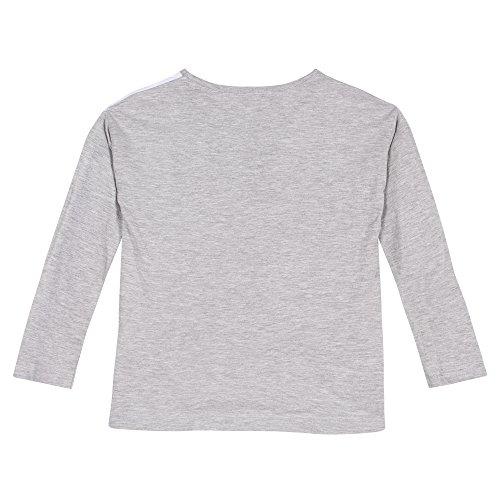 3 gris manzanas chica camiseta jaspeado gris wwPqpS