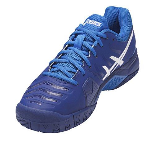 Asics Gel-challenger 11 - Zapatillas de tenis Hombre Azul (Limoges/white/directoire Blue)