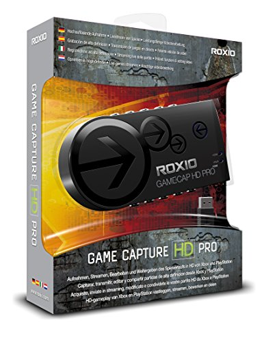Roxio Game Capture HD PRO Video Capture Device and Editing Software for...