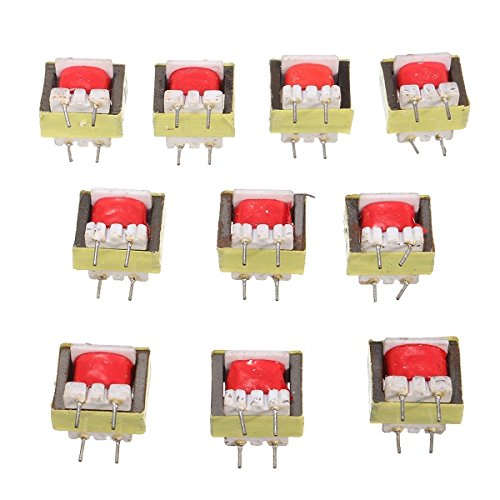 ILS - 10 pieces 1300 : 8 Ohm Audio Transformer EE14 Transformateur Audio POS ()