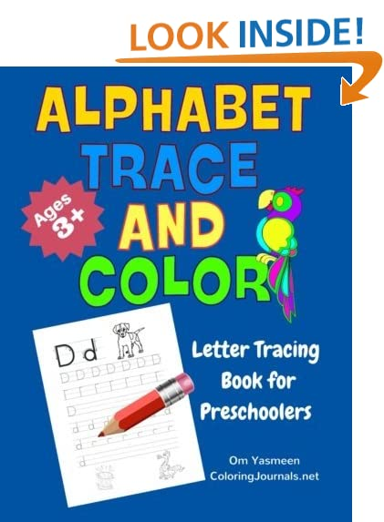 Counting Number worksheets letter trace worksheets : Trace Alphabet: Amazon.com