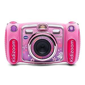 51usjdrALHL. SS300  - VTech Kidizoom Duo Selfie Camera, Amazon Exclusive, Pink