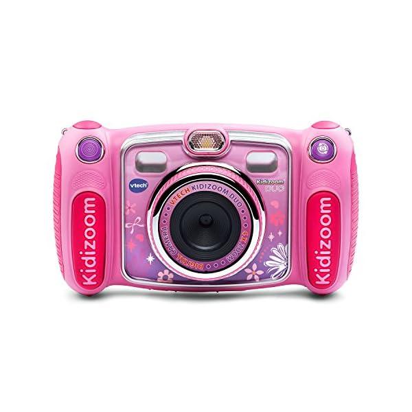 51usjdrALHL. SS600  - VTech Kidizoom Duo Selfie Camera, Amazon Exclusive, Pink