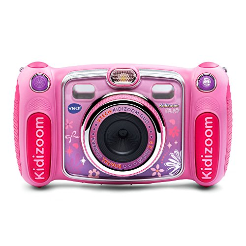 (VTech Kidizoom Duo Selfie Camera, Amazon Exclusive, Pink)