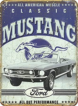 Imagen deUnbekannt Ford – Mustang Metal Sign Durable 40 x 30 cm S3456