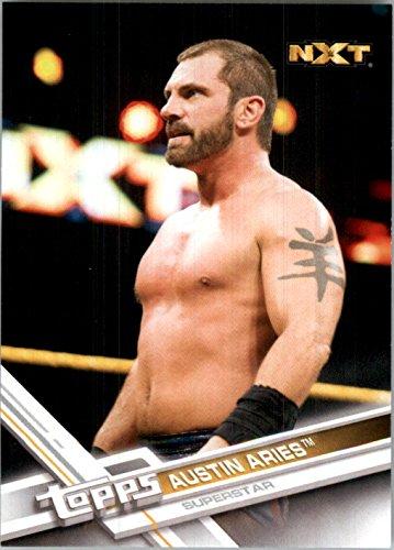 2017 Topps WWE #63A Austin Aries - - Aries Burbank