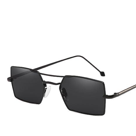BiuTeFang Gafas de Sol Mujer Hombre Polarizadas Moda Calle ...