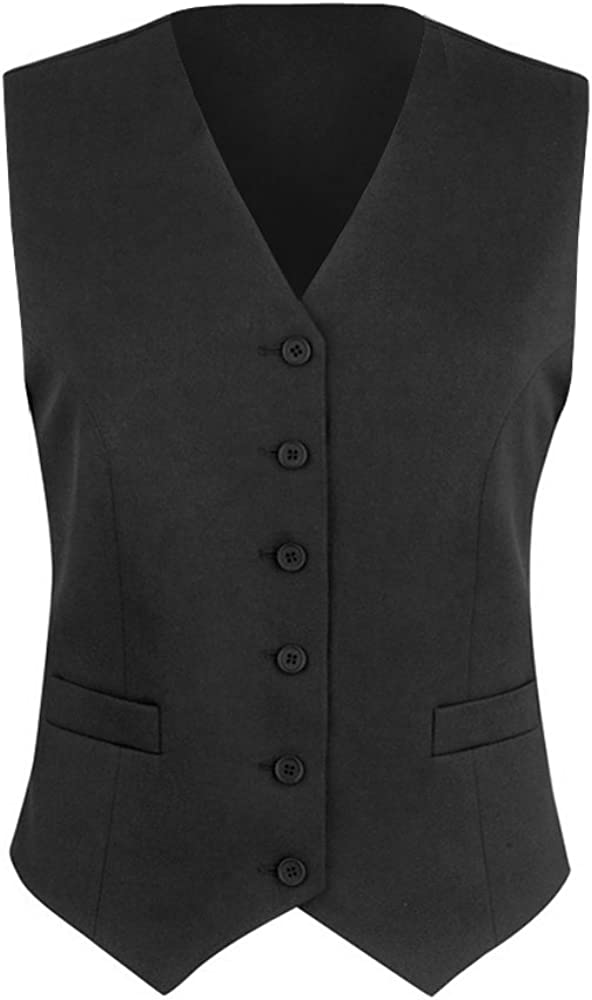 Brook Taverner - Chaleco de traje modelo Omega para mujer