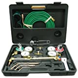 New Oxy Acetylene Welding Cutting Torch Kit Victor Compatible Premium Quality by Sky Enterprise USA