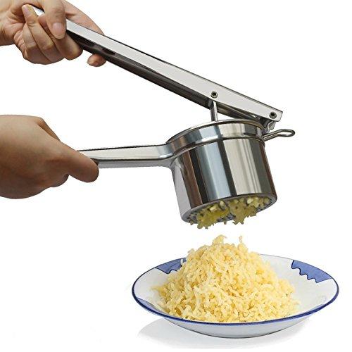 Potato Ricer, Stainless Steel Potato Masher, Ricer Press For Puree Fruit...
