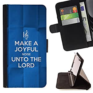 KingStore / Leather Etui en cuir / Sony Xperia Z1 L39 / BIBLIA para el Se?or