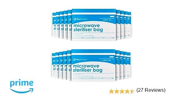 Bolsas de Esterilizador de Microondas Paquete de 10pc Premium de ...