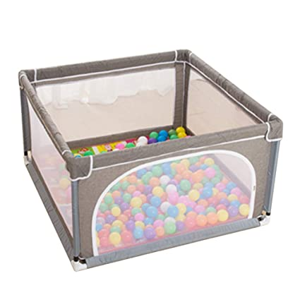 Plegable interior para bebés Parque de 4 paneles con pelotas ...