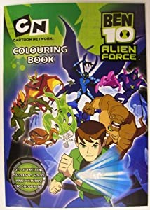 Alligator Books Ben 10 Colouring Book
