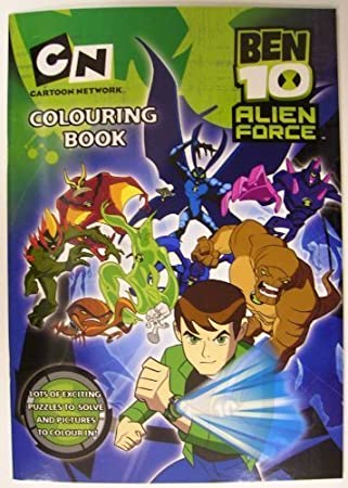Ben 10 Alien Force Colouring Activity Book