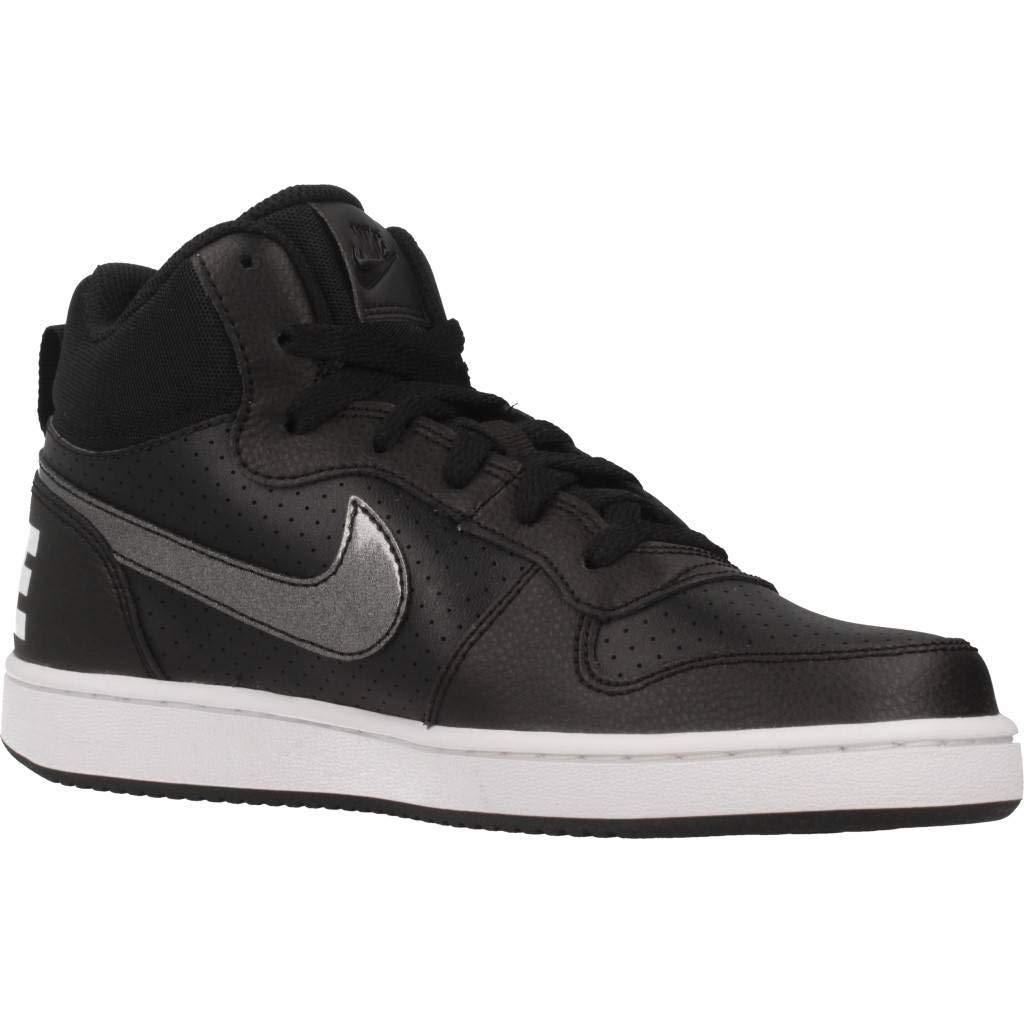 Nike Court Borough Mid Zapatillas de Baloncesto para Mujer GS