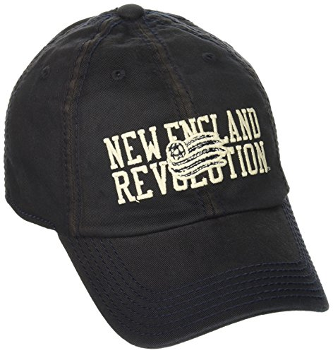 Outerstuff MLS New England Revolution Boys Flex Slouch Hat, Dark Navy, One Size (8) ()