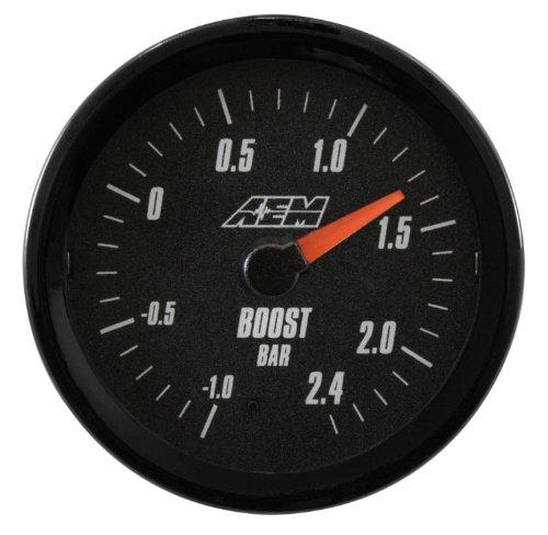 Aem analog 2.4bar boost gauge metric