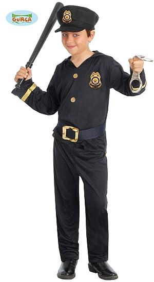 Guirca-81631 Disfraz 5-6añ.Policía Camisa-Pant-Cintur, Multicolor ...