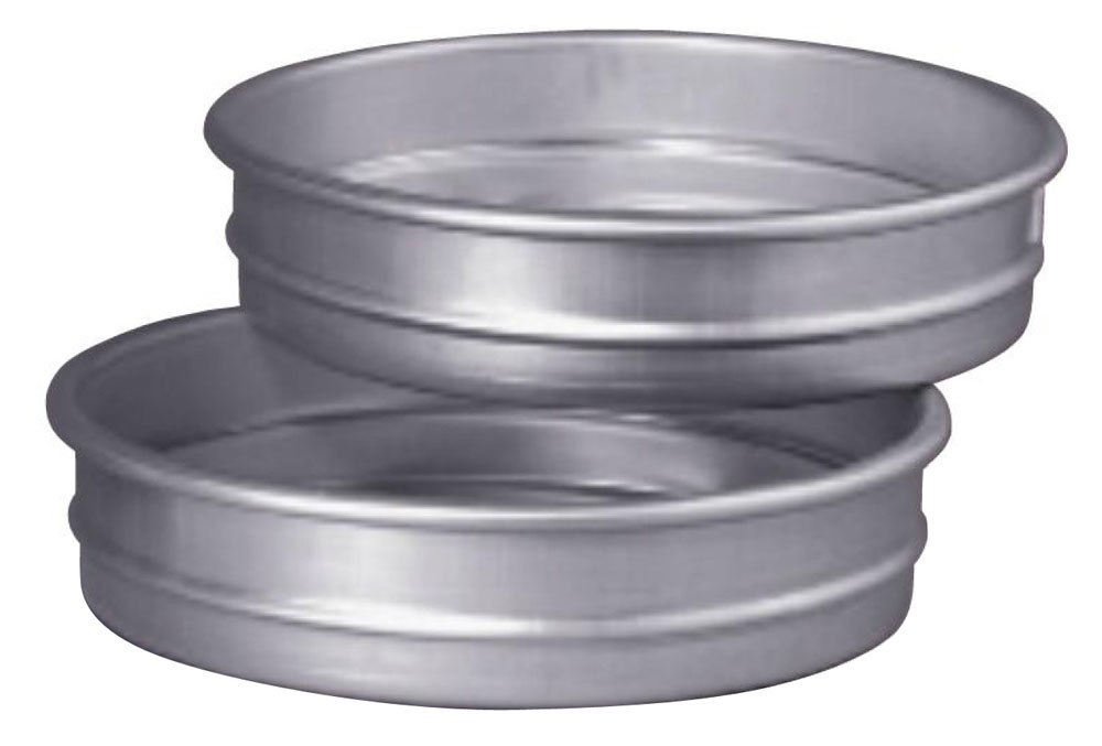 Straight Sided 16 by 2-Inch Allied Metal CPS16X2 Hard Aluminum Stacking Pizza//Cake Pan
