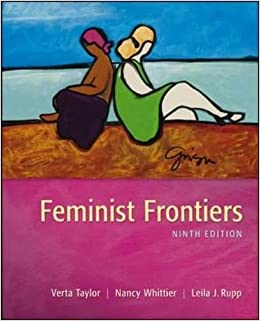 ??NEW?? Feminist Frontiers. practica litio Includes Letter Check QUERIDO Taylor