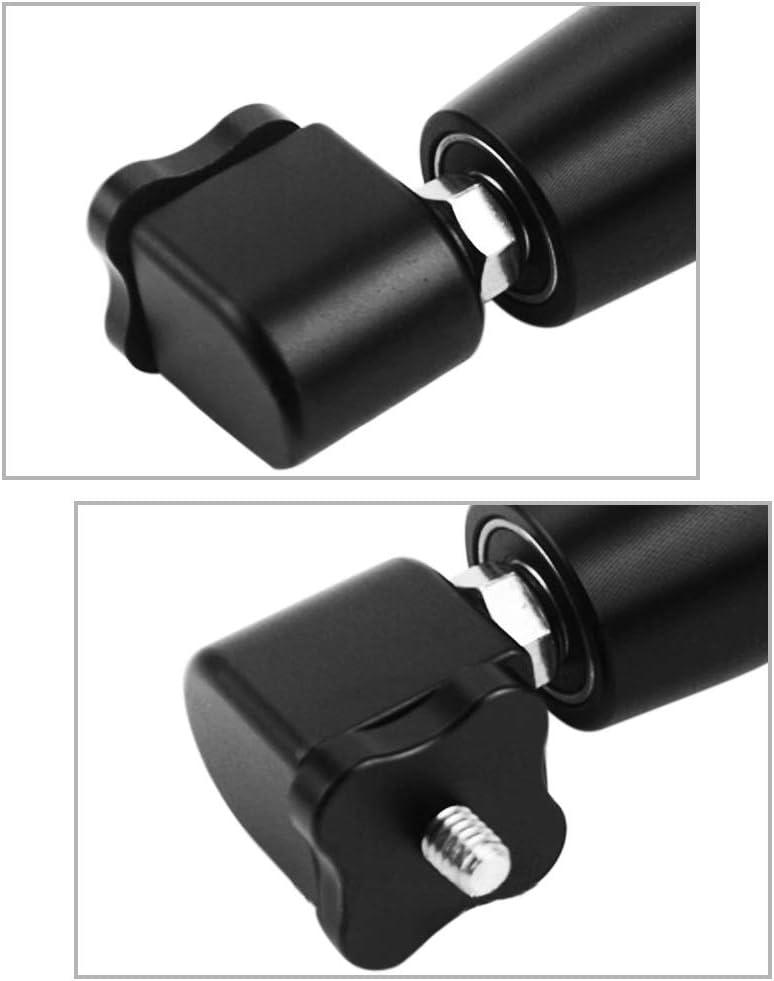 360 Grad Drehende Aluminiumlegierung Rotator Griff 1//4 Zoll Schrauben Meijunter Selfie Griff Zubeh/ör f/ür Insta360 One//One X