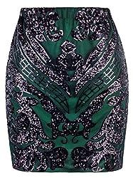 Empire Sequin Pencil Skirts