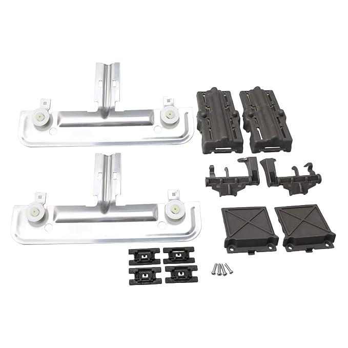 BQLZR Metal W10350375 Kit de ajuste superior para lavaplatos ...