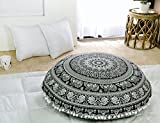 Popular Handicrafts Kp836 Large Hippie Elephant Mandala Floor...