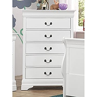 Coaster Home Furnishings 204695 Traditional Chest, White