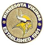 aminco Minnesota Vikings Circle Pin - est.1961